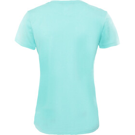 The North Face Reaxion Ampere Crew Shirt Dame mint blue heather